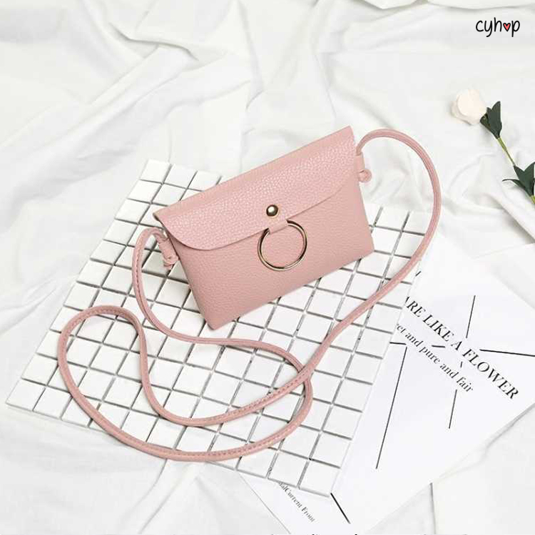 Small Bag with Hoop (Pink)