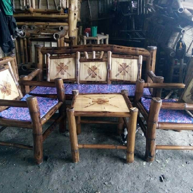 Sala Set Bamboo 4pcs with free cushion