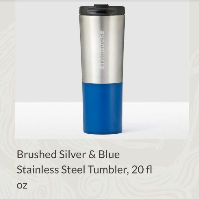 Starbucks Tumbler Venti 20 FL Oz Stainless Steel