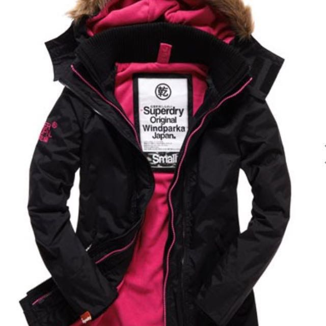 Superdry Pop Zip Wind Parka