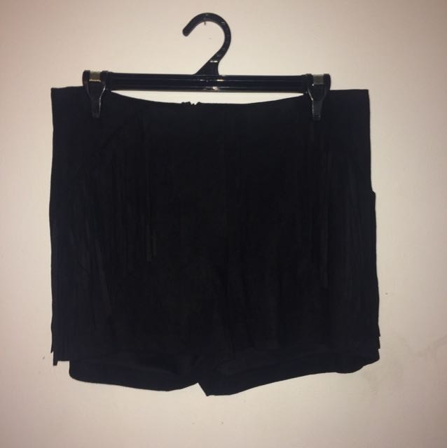 Swede black shorts