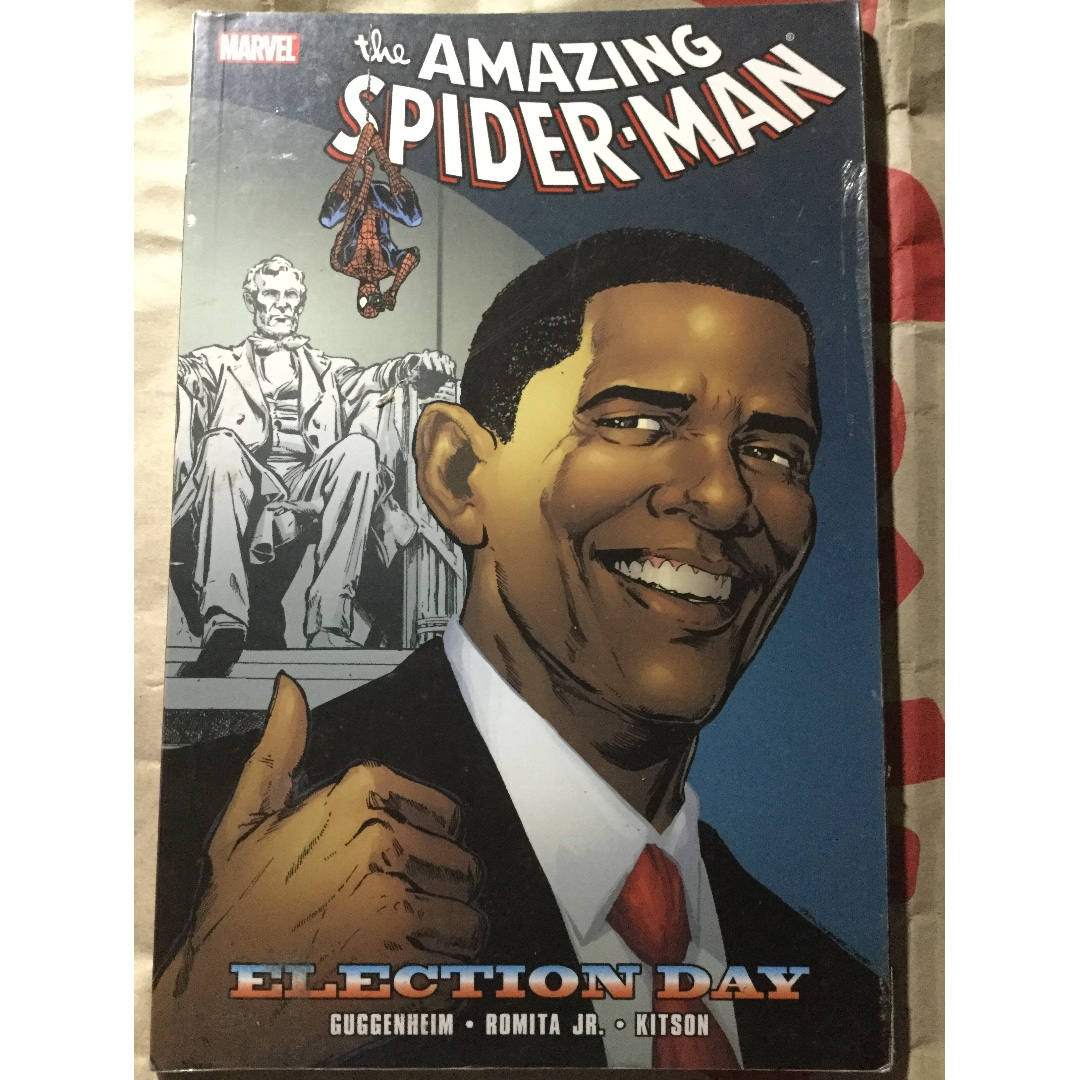 The Amazing Soider-Man: Election Day Comics