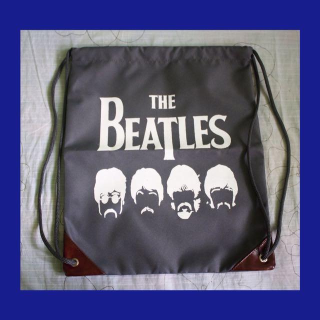 The Beatles Drawstring Bag