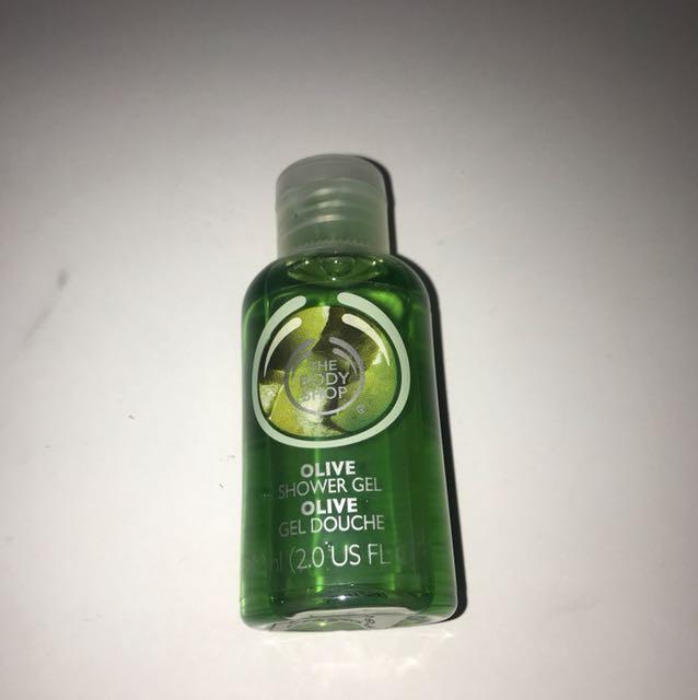 The Body Shop Olive Showe Gel