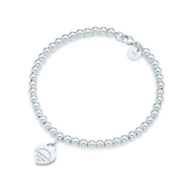 bead hand strung bracelet sterling with silver lobster clasp