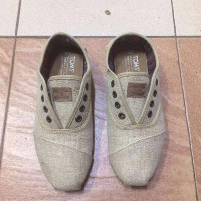 Toms Slip-on Canvas Shoes FREE SF