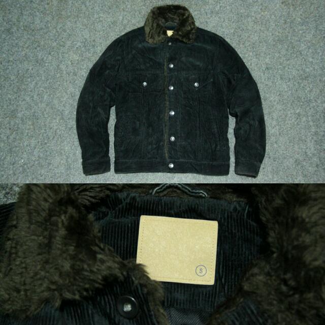 Uniqlo Corduroy Trucker Jacket