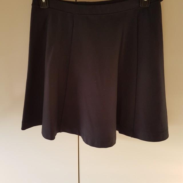 Uniqlo Navy Blue Skirt