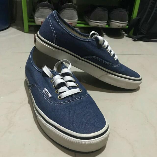 sprzedaż uk sklep internetowy szerokie odmiany Vans Authentic Blue Jeans