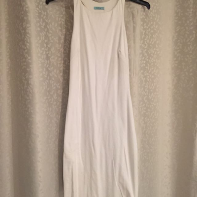 White kookai dress size1