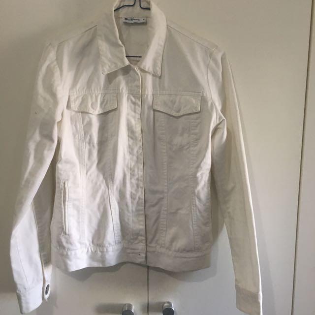 White Vintage Ben Sherman Denim Jacket