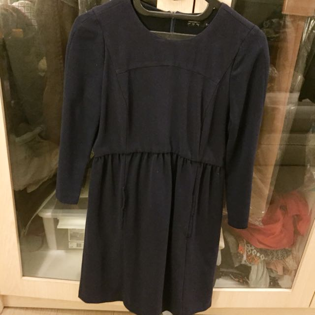 Zara dress dark blue