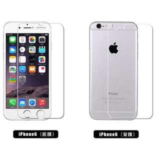 🚚 iPhone 6 6s 保護膜 前膜 後膜 高清膜 鑽石膜