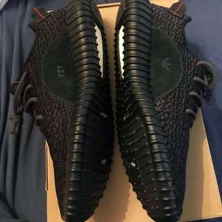 VNDS Adidas Yeezy Boost Black Pirate