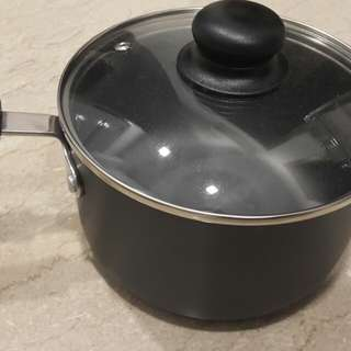 Dolphin collection HA saucepan 18Cm with Glass lid(Induction base)