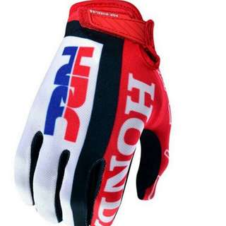 Honda HRC riding motorbike,  Escooter, ebike,  bicycle gloves