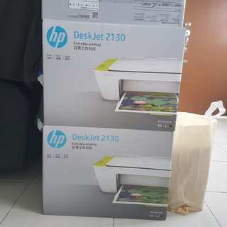 NEW With Ink! Hp Deskjet 2130 Printer