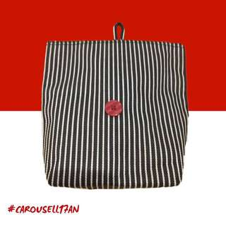 #Carousell17an Pouch Stripe From Glow Living Beauty #sss
