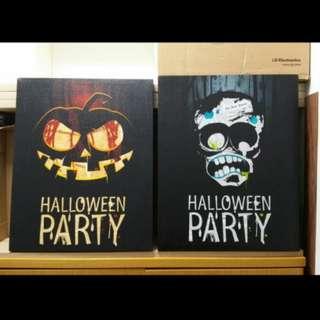 Halloween LED 裝飾掛畫