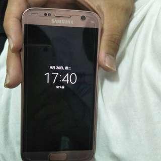Samsung.S7 盒子+充電組 幾乎無傷