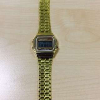 Casio Look Alike Gold Watch
