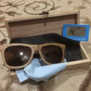 Wooden Polarized Sunglass