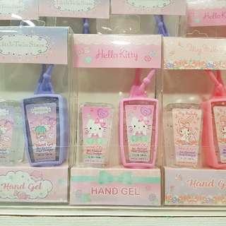 SANRIO Characters Anti-Bacterial Hands Gel Sanitizer