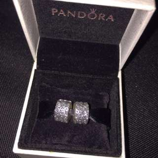 Two pandora Charms retails for 80