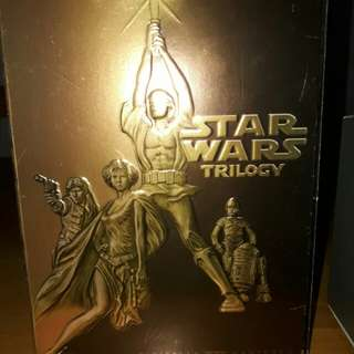 Star Wars rare collectible trilogy DVDs