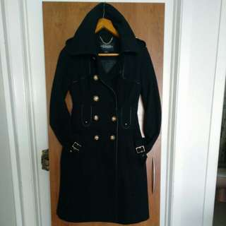 Black Jill Stuart Winter Jacket