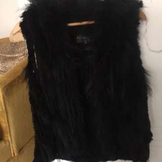 Beautiful authentic fur vest