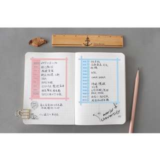 Useful Timeline Daily Planner Sticker Pack