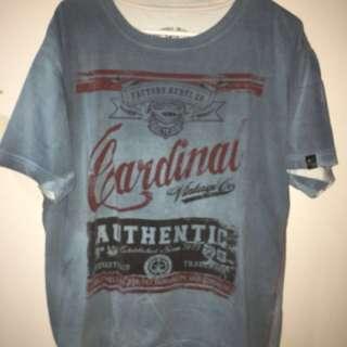 Cardinal Jean Tshirt Size XXL