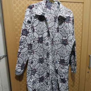 blouse batik , tunik , midi dress