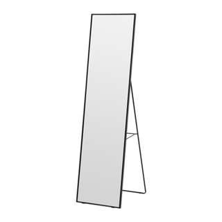 KARMSUND: Standing mirror, black