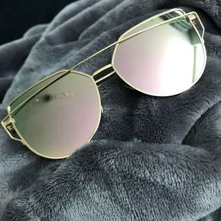 Gold/Rose Gold Sunglasses