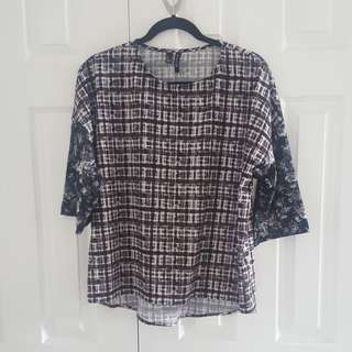 MNG Collection Size 4 Blouse