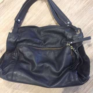 Witchery Leather Handbag
