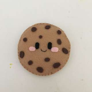 Hand made cookie plushie!