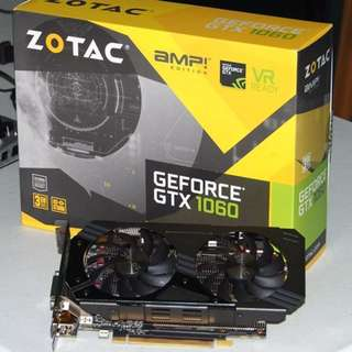 Zotac GTX 1060 3GB AMP! Edition Video Card