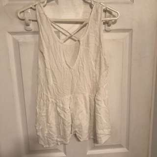 Urban outfitters cross front top size small