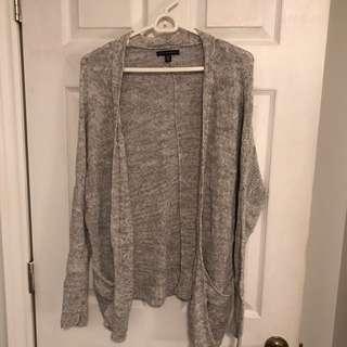 Slouchy knit cardigan size xs
