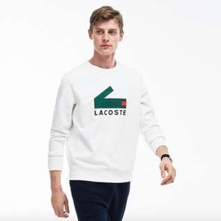 Lacoste Crocodile Print Sweatshirt