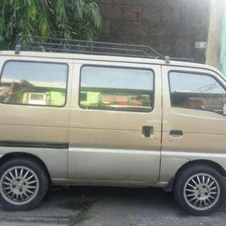 Suzuki mini van multicab