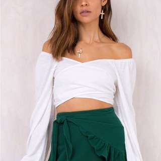 Princess Polly Off the shoulder top