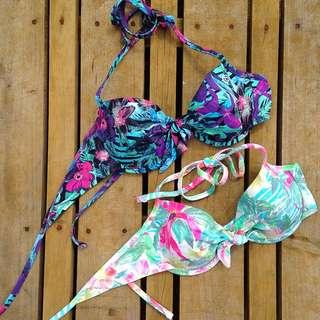 Rip curl Bikini Top x2