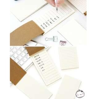 Minimalist Convinient Planner Peeling Note Pad