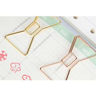Ribbon Shape Metal Wire Clip