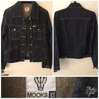 Mooks denim jacket size 10