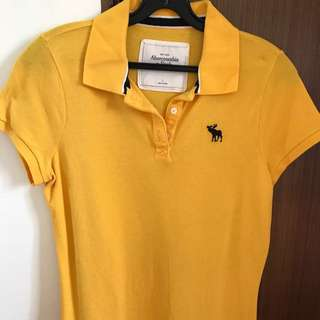 Authentic Abercrombie & Fitch Polo T
